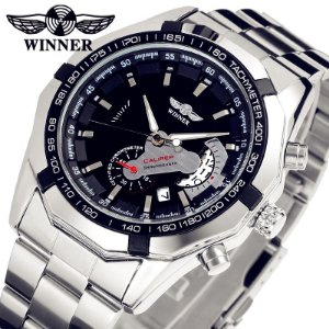 acd3f68f3d0 Relógio Winner Caliper Automático