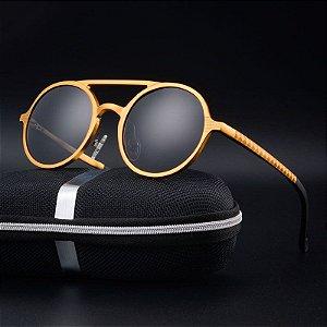 Óculos de Sol Masculino / Feminino Vintage Polarizado