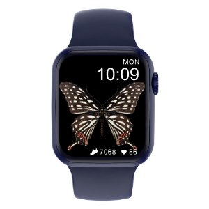 Relógio Smartwatch Iwo DT100 44mm - Azul