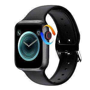Relógio Smartwatch Eletrônico Iwo W26 Pró - Com Coroa Funcional