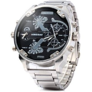 Relógio Shiweibao Steel Silver