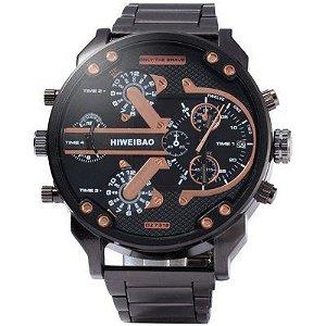 Relógio Shiweibao Steel Black
