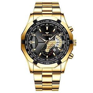 Relógio Masculino Tachymeter Luxo