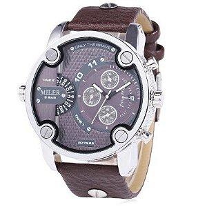 Relógio Miler Leather