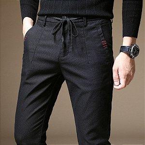Calça Esporte Fino Masculina Comfort Cordão