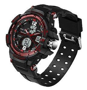 Relógio Masculino Shock Adventure Sanda