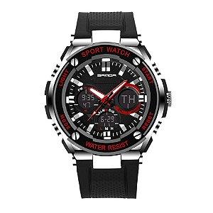 Relógio Digital Masculino Sanda S-Shock