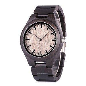 Relógio Unissex Feito em Bambu Bobo Bird