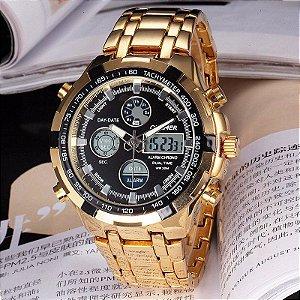 Relógio Quamer Army Steel