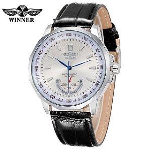 Relógio Winner Leather Class