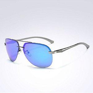 Óculos de Sol Masculino Polarizado Anti-Reflexo