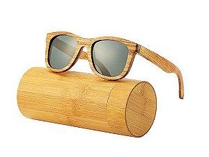 Óculos de Sol Feito em Bambu - Vintage