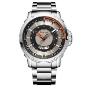 Relógio Masculino Curren Lens