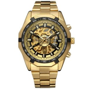 Relógio Masculino Automático Forsining Skeleton