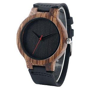 Relógio Artesanal Yusuya Grey - Feito em Bambu
