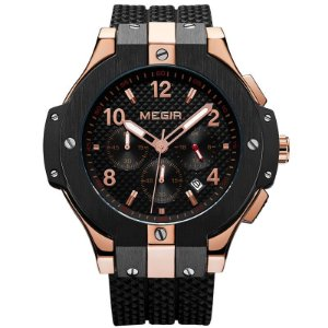 Relógio Masculino Megir Golden