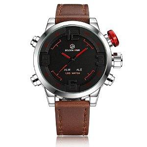Relógio Digital Masculino Golden Hour Sport
