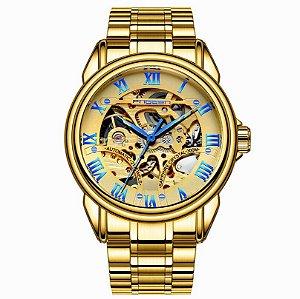 Relógio Automático Dourado Faggen