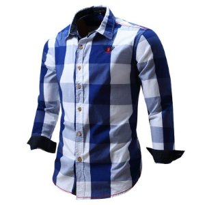 Camisa Social Masculina Slim Fredd Marshall