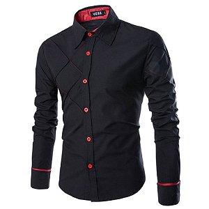 Camisa Social Masculina Gaborone - Slim Fit - Masculina