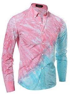 Camisa Social VSKA Print