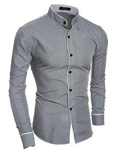 Camisa Social Masculina Egypt - Slim Fit