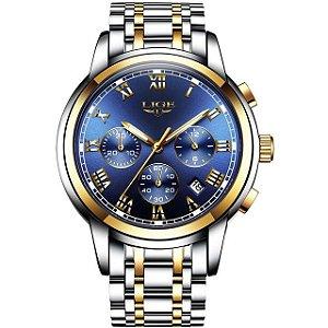 Relógio Masculino Funcional LIGE 9810