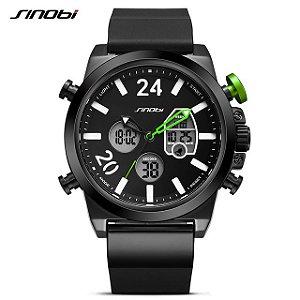 Relógio Sinobi Style Digital