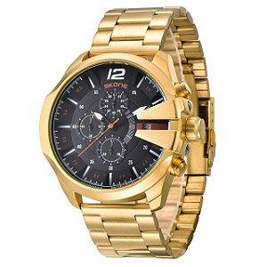 Relógio Masculico Funcional em Aço Inoxidável Skone