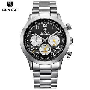 Relógio Benyar Chronograph Inox
