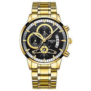 Relógio Masculino Nibosi Style Funcional - Blindado