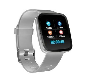 e2f0b107c99 Relógio Smartwatch CF V6 - iPhone ou Android - 42mm