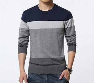 Suéter Masculino em Tricô - 3 cores