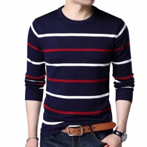 Suéter Listrado - 3 cores