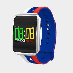 7c85a1e1368c1 Pulseira para Relógio Eletrônico OLED Pró Smartwatch