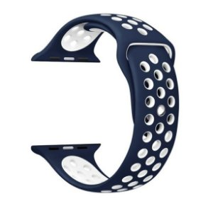 Pulseira em Silicone para o Smartwatch Apple Watch 42mm/44mm.