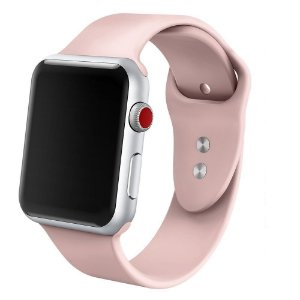 Pulseira em Silicone para o Smartwatch Apple Watch 42mm/44mm