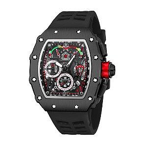 Relógio Masculino Pin Time