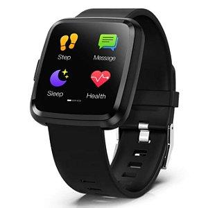 928b21b74e1e3 Relógio Smartwatch CF 007 Health Tracker
