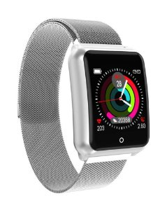 Relógio Smartwatch Magnus Venom - Aço - iPhone/Android