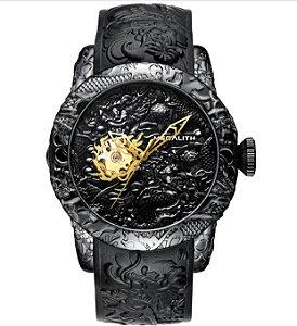 Relógio Megalith Empire Dragon - Vidro de Safira