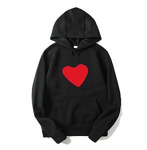 Blusa Moletom Coração