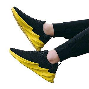 Tênis Fashion Waves com palmilha em Plutônio