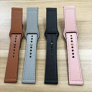 Pulseira para Smartwatch Xiaomi Huami em Couro - Todos os Modelos