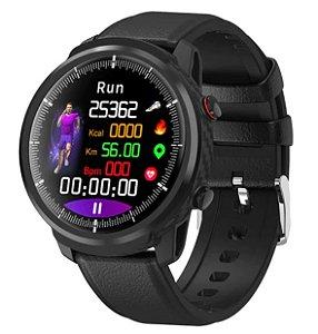Relógio Smartwatch CF L3 - iPhone ou Android - Conexão com Strava