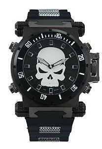 Relógio Masculino Winner Quartzo - Justiceiro