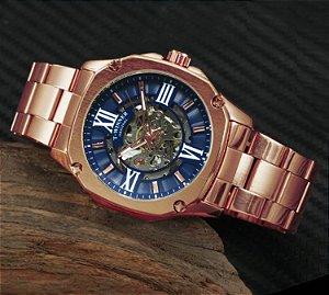 Relógio Masculino Automático Winner 508 - Aço Inoxidável