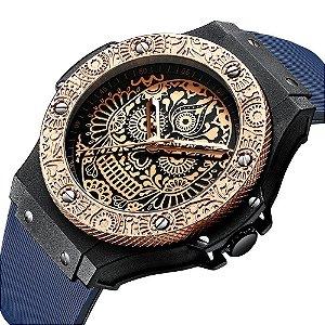 Relógio Masculino Gimto Skull Mysterious