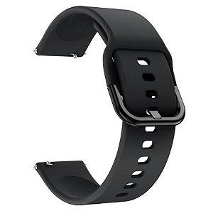 Pulseira em Silicone Para Smartwatch Samsung / Xiaomi - 20mm de largura