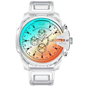 Relógio Masculino Acrylic (Acrílico)